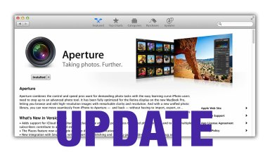 What's New in Aperture 3.5? Not Enough.