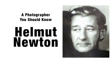 Helmut Newton | A Photographer You Should Know