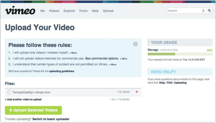 Upload-selected-videos1