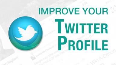 Time to Enhance Your Twitter Profile