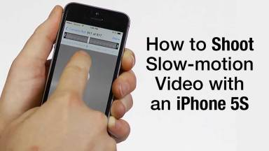 How to Shoot Slow-motion Video with an iPhone 5s