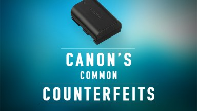 Canon's Common Counterfeits