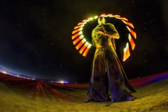 Diego Rodarte-Amor at Burning Man 2013 - by Eric Pare