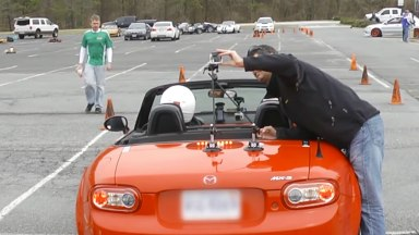 Attaching a Camera to a Car