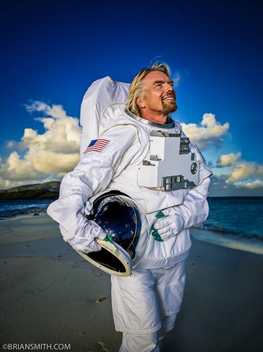 Richard Branson - Virgin Galactic - Necker Island, BVI