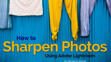 How to Sharpen Photos using Adobe Lightroom