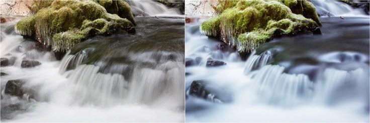(Left) 0.7 sec; (Right) 30 sec