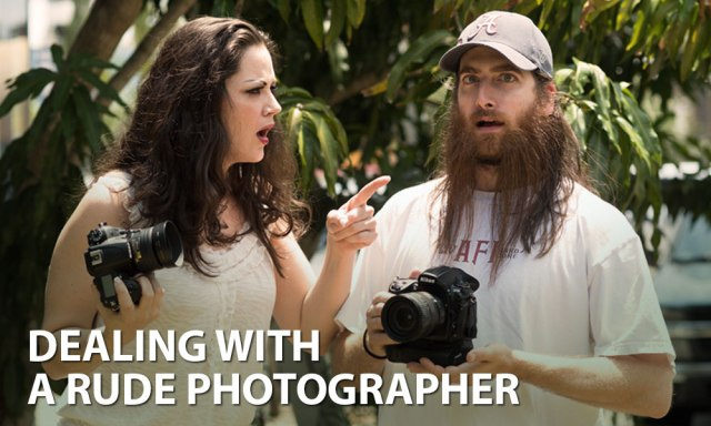 How to Deal with a Rude Photographer