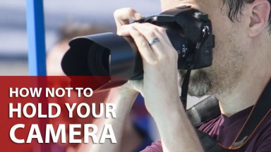 For God's Sake, Hold Your Camera Correctly!