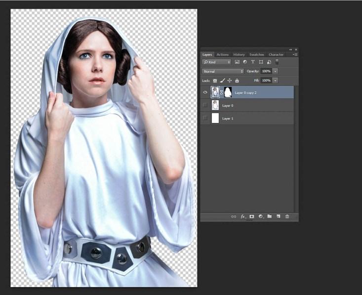 Step 4 Remove white background