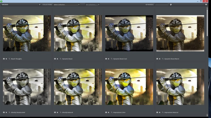 Topez Grid view