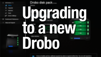 Upgrading from a Second Generation Drobo to Gen 3
