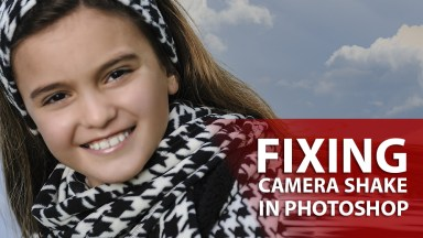 Fixing Camera Shake with Photoshop