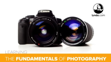 My Favorite Courses to Learn the Fundamentals of Photography from lynda.com