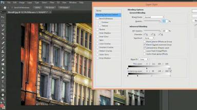 Advanced Blending of Adjustment Layers