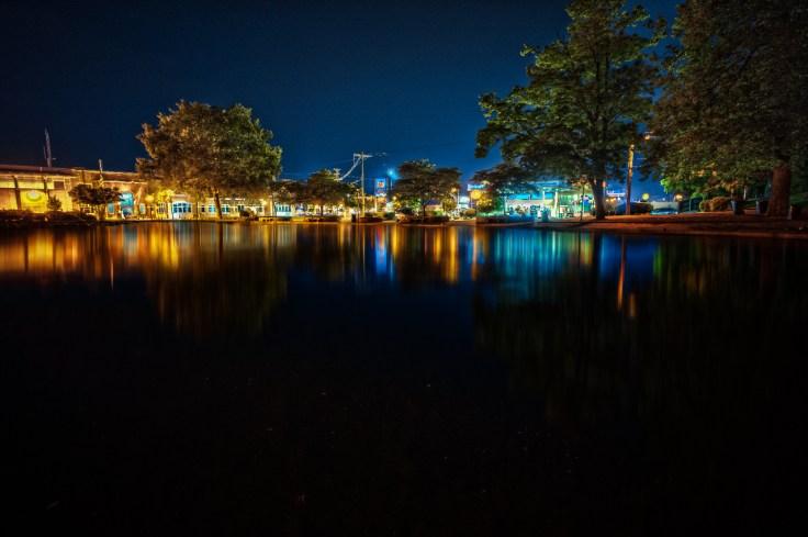 Midnight reflections via Sony A7R + Leica 18mm f/3.5 Super Elmar M