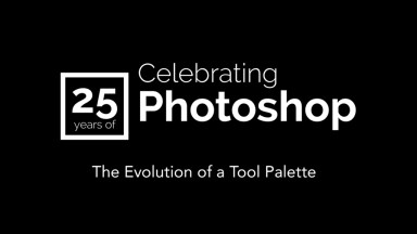 The Evolution of the Photoshop Tools Palette