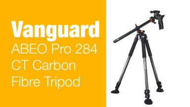 Vanguard ABEO Pro 284 CT Carbon Fibre Tripod – Mini Review
