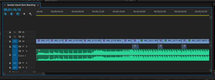 Timeline in Premiere Pro