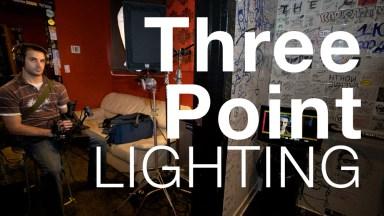 The Essentials of Three-point Lighting