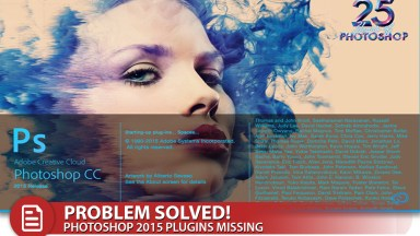 Solution: Photoshop CC 2015 Missing Plugins