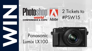 Win Two Tickets to Photoshop World + A Panasonic Lumix LX100
