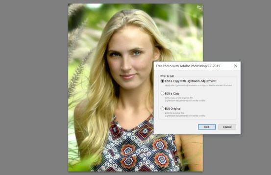 What to Edit: Edit a Copy with Lightroom Adjustments