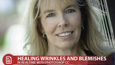 Healing Wrinkles and Blemishes in Realtime with Photoshop CC