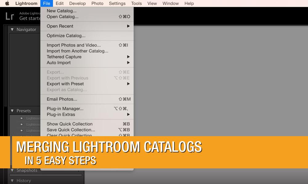 Merging Lightroom Catalogs in 5 Easy Steps | Photofocus
