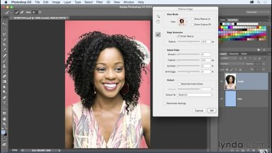 Selecting Hair in Photoshop