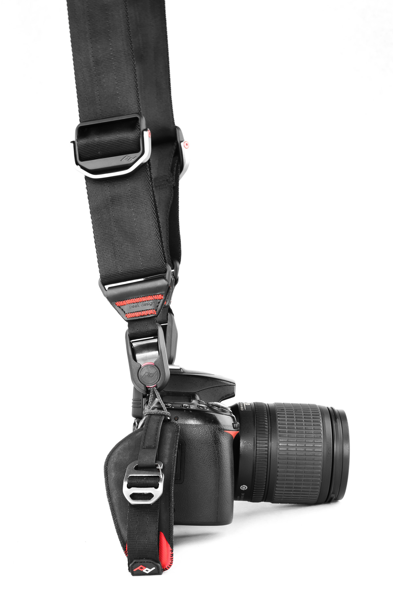 Save Your Neck And Lose That Strap Photofocus Peak Design Lens Kit Nikon F Mount Designs Slide Clutch Installed Photo By