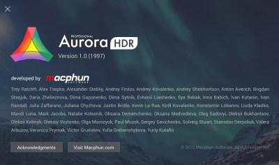 aurora ak screen