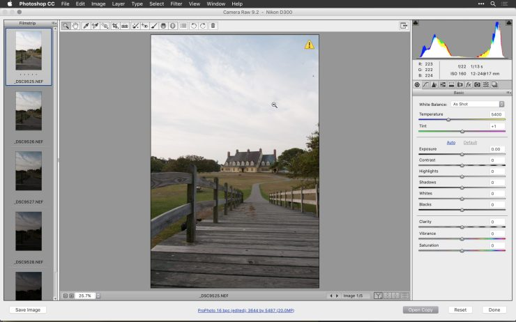 how to open raw files in photoshop cc