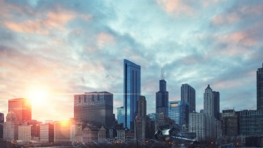 Photo of the Day: Chicago Sunset