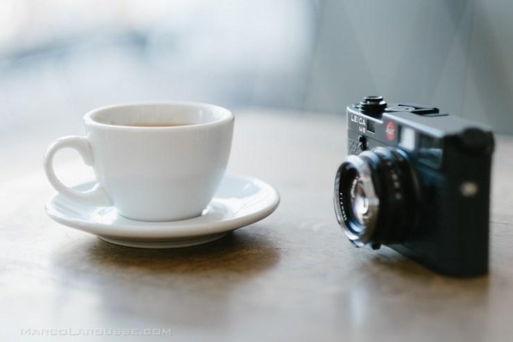 One camera - one lens