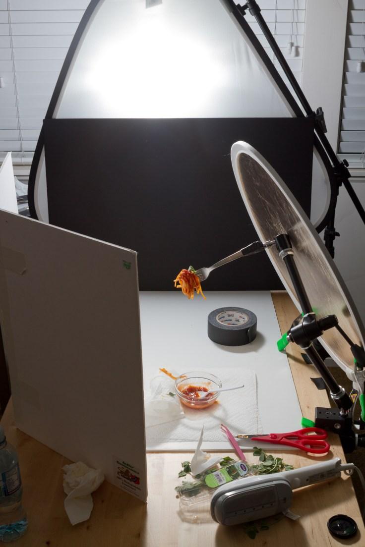 The full setup of this shot.