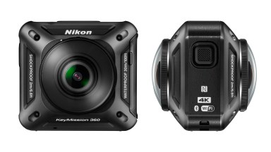 Nikon Challenges GoPro With 360/VR Capture