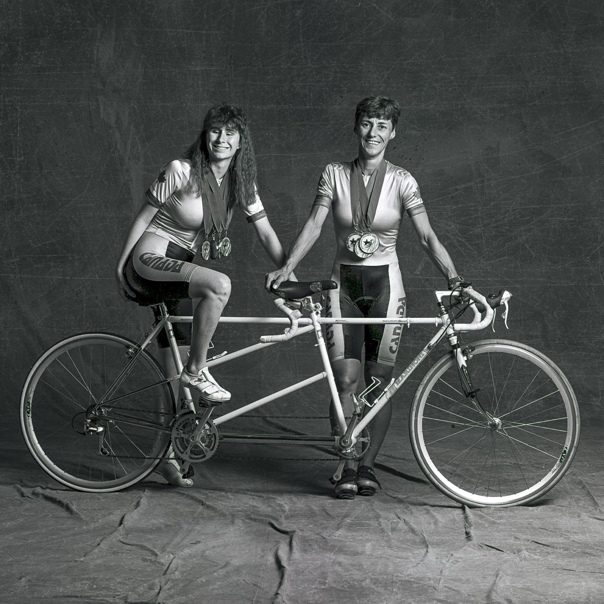 1996 Paralympic Cyclists by Kevin Ames