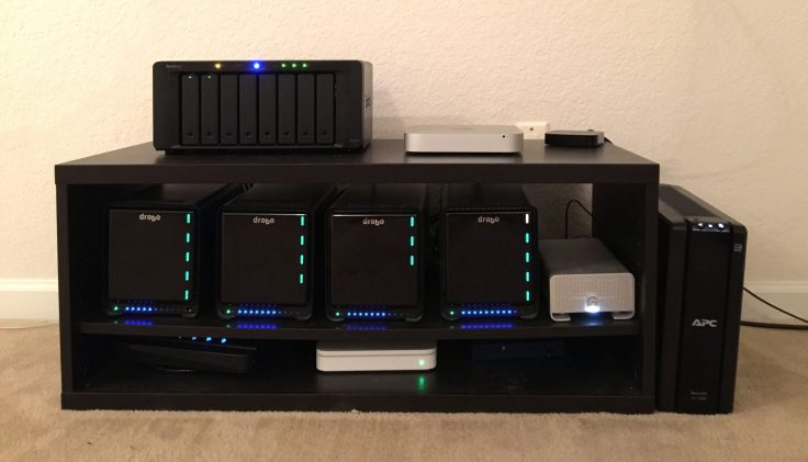 Here's a look at my main backup system.