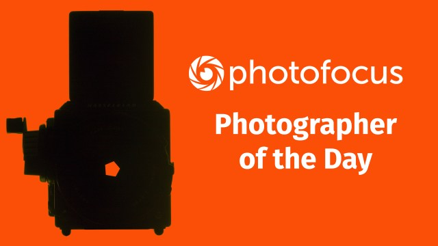 Photofocus Photographer of the Day banner
