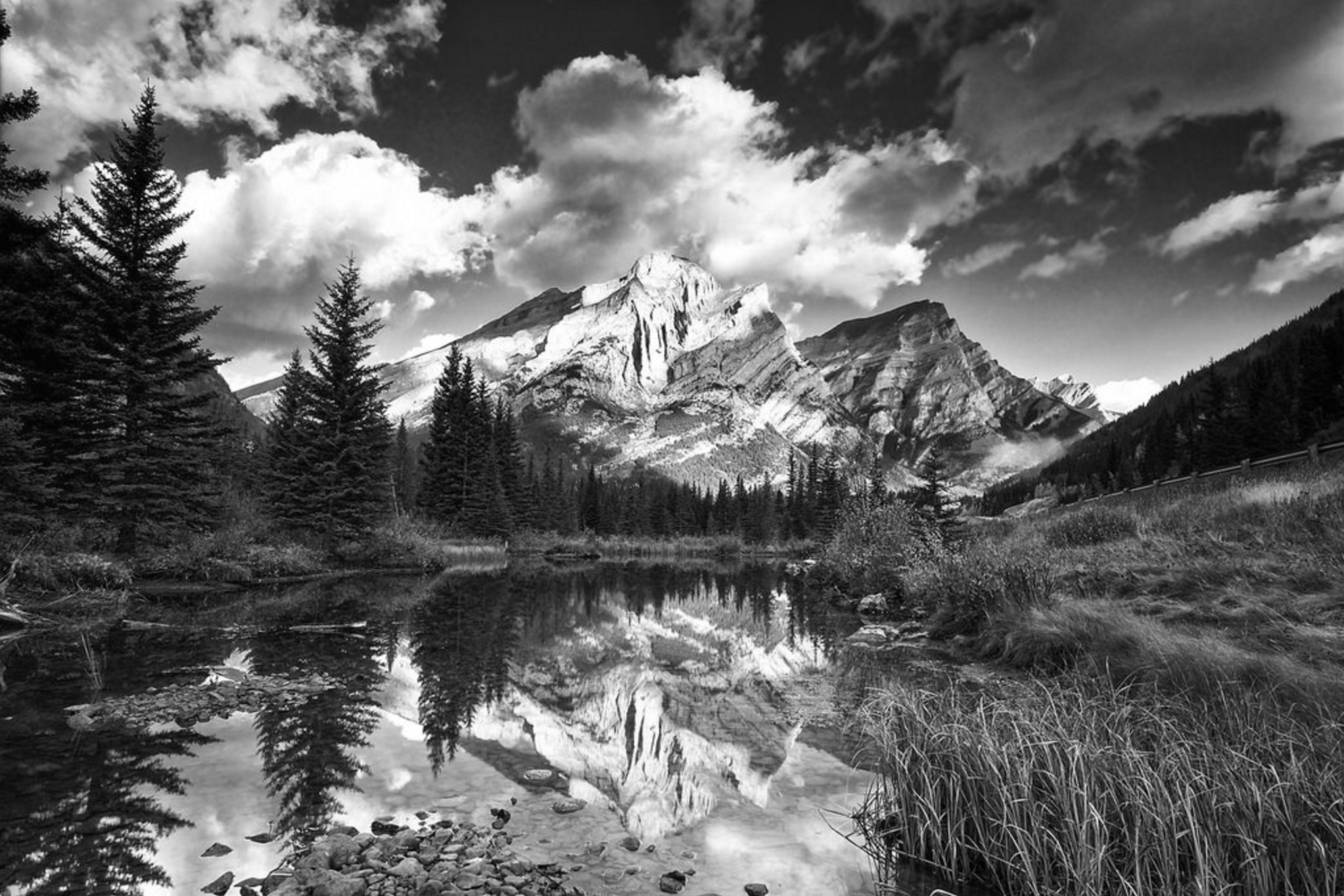 Mt. Kidd by Dan Warkentin