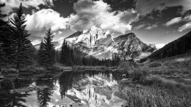 Mt. Kidd by Dan Warkentin