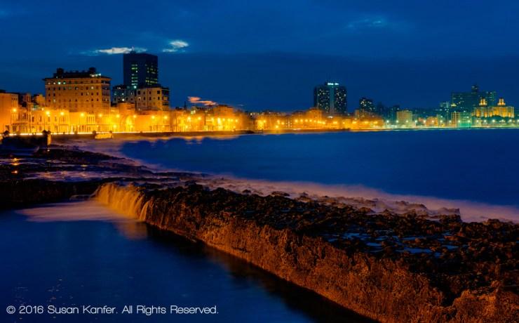 Malecon, Early Evening, Havana