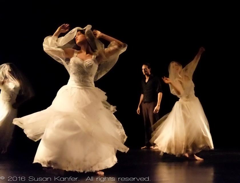 Dancers in Cuban Dance Troupe