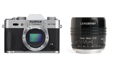 Win a Fujifilm X-T10 and Lensbaby Velvet 56