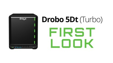 Faster Storage for Photographers with Drobo 5Dt