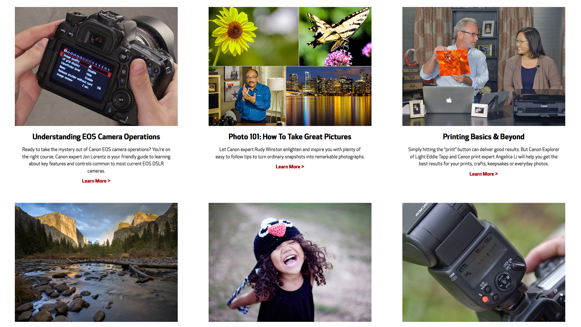 Canon Adds 7 New Online Classes | Photofocus