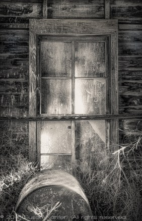 Window, Abandoned Building