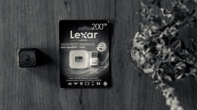 Lexar's 633x 200GB microSDXC Card