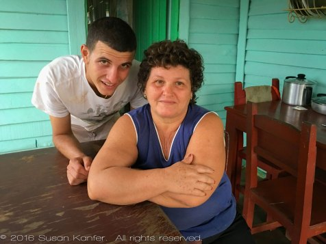 Mother-and-Son, Vinales